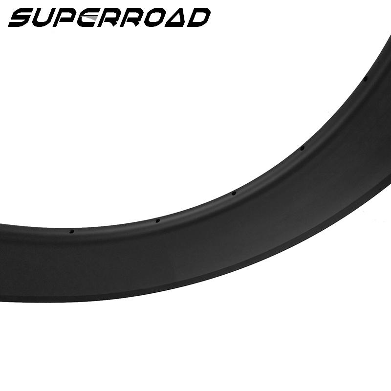 80mm carbon tubeless rims