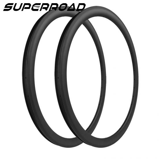 wide carbon road rims